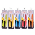 "3.5"" Paring Knife + Sheath (Red, Yellow, Green)"