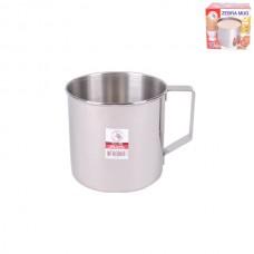 12cm Stainless Steel Mug With Handle