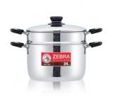 *24cm Sauce Pot W/Steamer & Knife